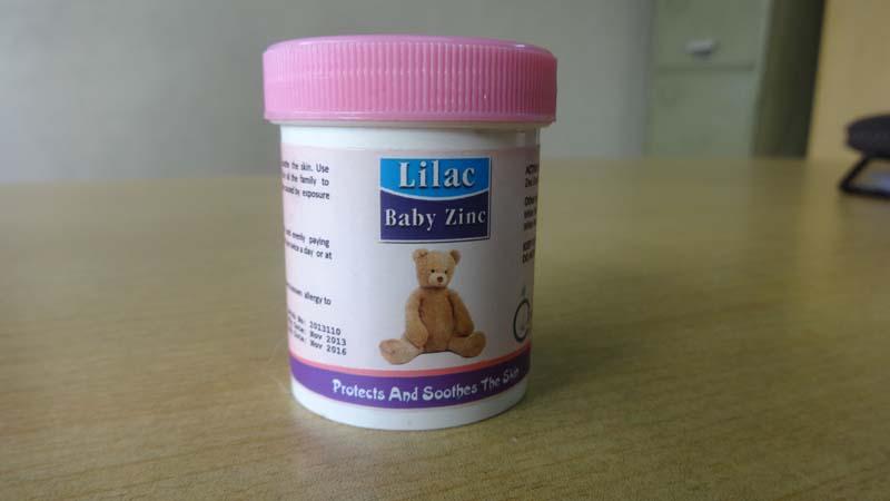 Lilac Baby Zinc