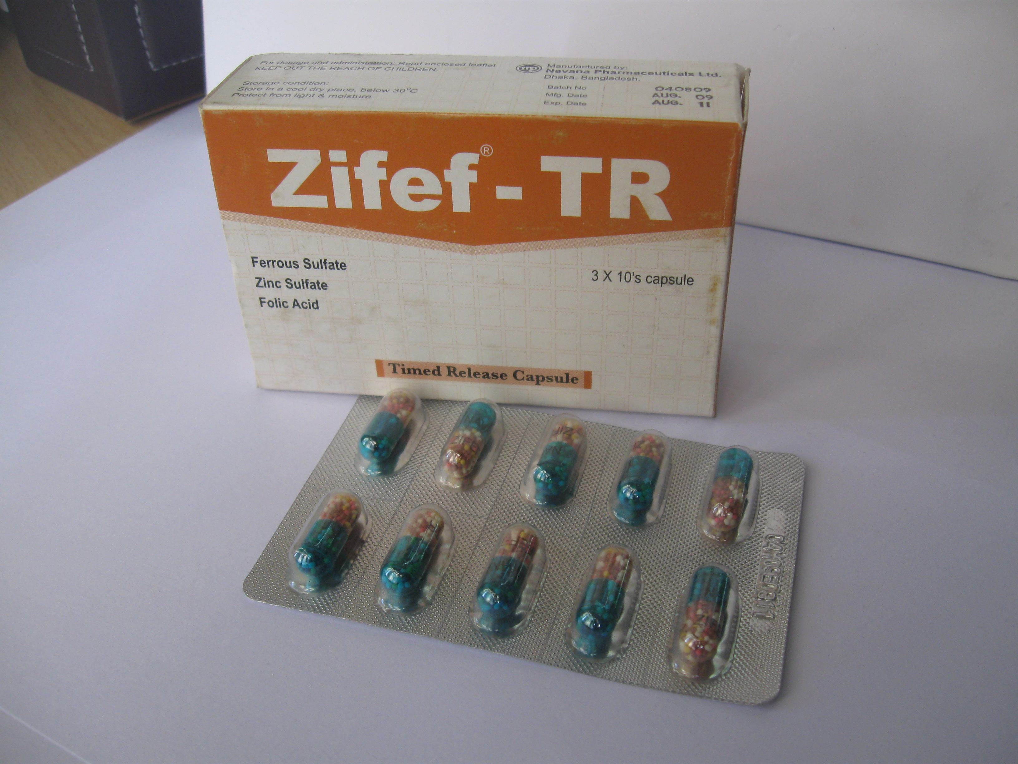 Zifef – TR Capsules