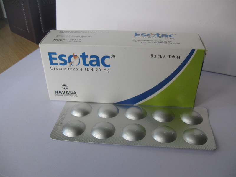 Esotac 20mg Tablets