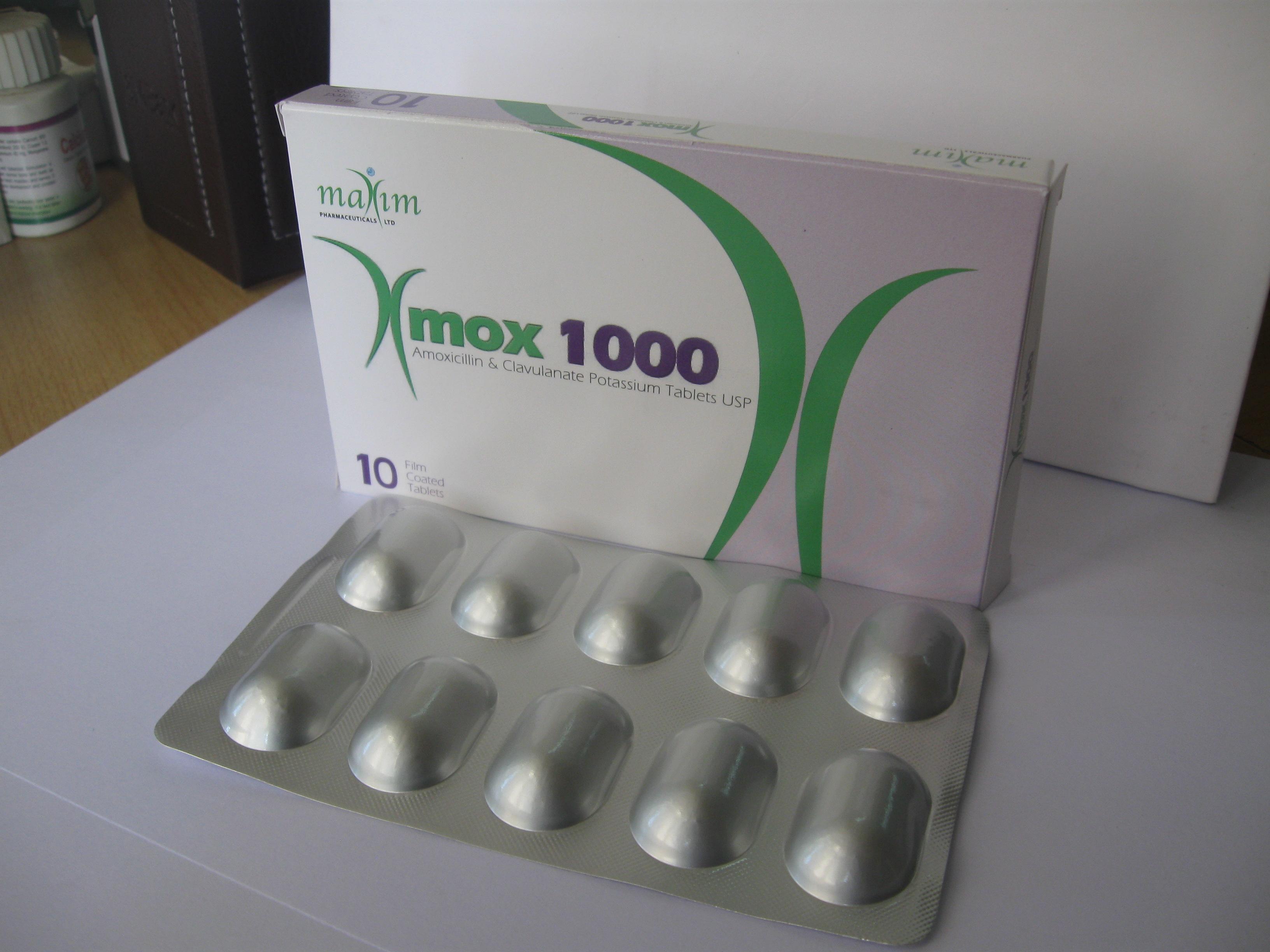 XMOX 1000mg Tablets